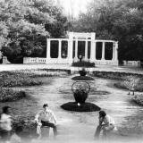 Краснодар. В горпарке, 1978 год.