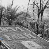 Краснодар. В Горпарке, 9 мая 1954 года. Фото 2.