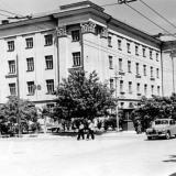 Краснодар. Вид на Монтажный техникум, начало 60-х годов.