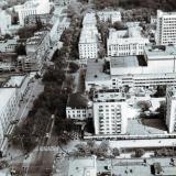 Краснодар. Вид на улицу Красную к северу от улицы Мира. 1986 год.