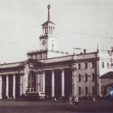 Краснодар. Железнодорожный вокзал конец 50-х годов.