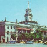 Краснодар. Железнодорожный вокзал.