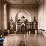 Екатеринодар. Кубанский мариинский женский институт. 25.10.1913 год. Общий вид алтаря домовой церкви