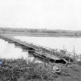 Екатеринодар. Мост через реку Кубань