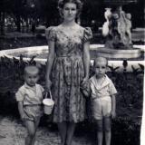 Парк им. М.Горького, лето 1960 года