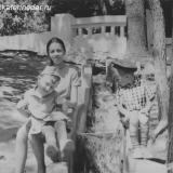 Краснодар. Парк им. М Горького, лето 1968 года