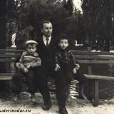 Краснодар. Парк им. М. Горького. У озера, около 1960-го года