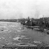 """Краснодар. Пароход """"Краснодар"""" после спуска, 30 марта 1929 года"""