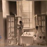 Екатеринодар. Сестры милосердия готовят инструменты в предоперационной комнате лазарета общины, 1915 год