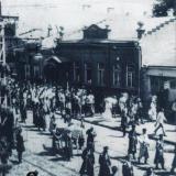 Екатеринодар. Торжественное шествие по ул. Красной, 1919 год