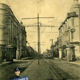 Екатеринодар. угол ул. Красной и ул. Гоголя, вид на север, до 1917 года