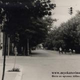 Краснодар. Угол Красноармейской (Бурсаковской) и Ленина (Соборной), вид на запад, начало 60-х