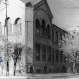 Краснодар. Угол улиц Красноармейской и Советской, школа № 8, около 1958 года
