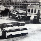Краснодар. Угол улиц Красной и Дружбы (Буденного), 1967 год.
