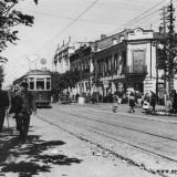 Краснодар. Угол улиц Красной и Свердлова, 1947 год