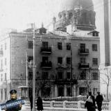 Угол улиц Мира и Седина, 1956 год, вид на восток