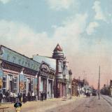 Екатеринодар. Вид Красной улицы.