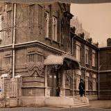 Екатеринодар. Вид главного фасада здания Кубанской общины сестер милосердия, 1915 год