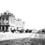 Екатеринодар. Вид Красной улицы от Штабного переулка к северу, 1888 год