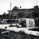 Екатеринодар. Вид на Атаманский дворец из Екатерининского сквера.