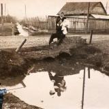 г.Краснодар, Свиной хутор, Северный канал, пересечение с ул. Аэродромной, 1950 год
