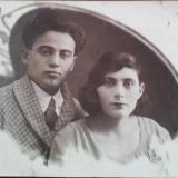 Горожане .Екатеринодар.Фотограф неизвестен .Семья Караяниди Нины ,1937г