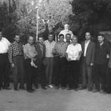 Краснодар. Рабочие завода Седина в Горпарке, 10 октября 1962 года.