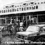 Краснодар. КМР. Новый продовольственный Магазин №54 Советского райпищеторга.