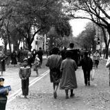 Краснодар. Перекресток ул. Красной и Горького, вид на юг, 1985 год