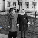 Краснодар. Бульвар на улице Красной, 1958 год