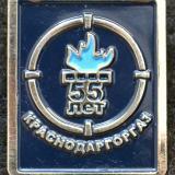 Краснодар. 55 лет Краснодаргоргаз, 2008 год