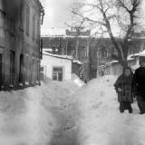 Краснодар. Двор, Шаумяна, 48. 14 февраля 1954 года.
