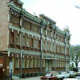 Краснодар. Баня на ул. Клары Цеткин, 1988 год.