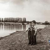 Краснодар. Берег Затона реки Кубань. Май, 1981 года.