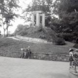 Краснодар. Ротонда в парке им. Горького, август 1987 года.