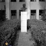 Краснодар. Бюст В.И. Ленина на заводе им. Г.М. Седина, 1970-е годы