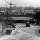 Краснодар. Двор мединститута, вид на восток, 1965 год