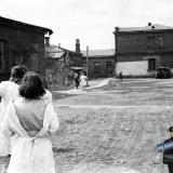 Краснодар. Двор Мединститута, начало 1950-х