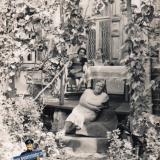 Краснодар. Двор по улице Рашпилевская 23, конец 1960-х