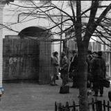 Краснодар. Двор школы №36 (Красная, между Гоголя и Гимназической), около 1970 года