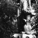 """Краснодар. Фонтан """"Хозяйка медной горы"""" в сквере им. Ленина, 1988 год"""