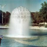 Краснодар. Фонтан на площади Труда, 1970-е годы