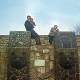 """Краснодар. Фонтан """"Три медведя"""" на Карасуне, 1987 год"""