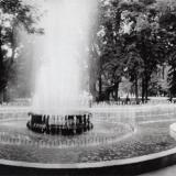 Краснодар. Фонтан в Горпарке, 1989 год