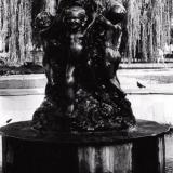"""Краснодар. Фонтан в Горпарке со скульптурой """"Дети"""". 1985 год"""