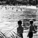 "Краснодар. Пляж ""Старая Кубань"", 1966 год"