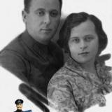 Краснодар. Лях Василий Петрович и Сумарокова Мария Даниловна.