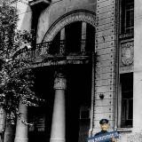 Краснодар. Гарнизонный дом офицеров. Красноармейская, 48. Парадный вход.