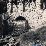 Краснодар. Городской сад, у пруда, 1954 год