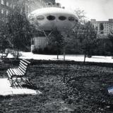"""Краснодар. Кафе """"Спутник"""" по улице Атарбекова, 1986 год"""